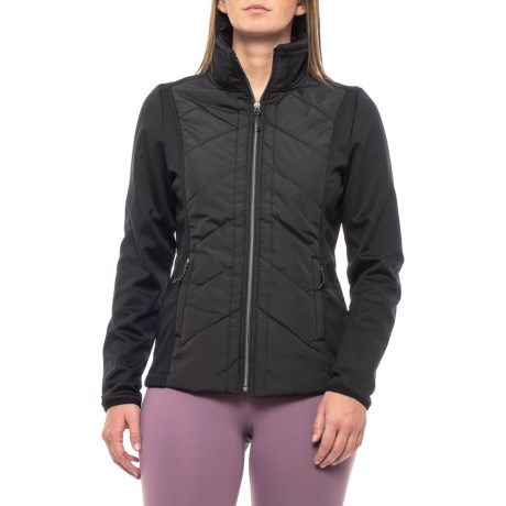 Image of Chevron Quilt Jacket (For Women)