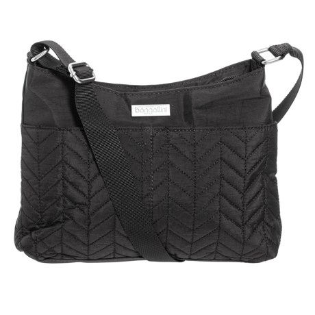 Image of Chevron Quilted Crossbody Bag (For Women)