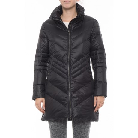 Image of Chevy Long Puffer Jacket - Insulated (For Women)