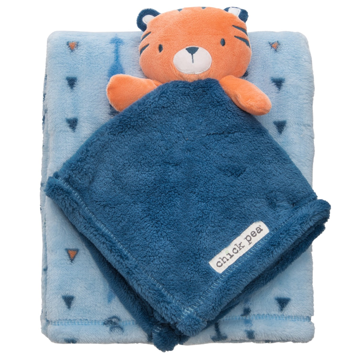 Chick Pea Tiger Buddy and Blanket - 2-Piece Set (For Infants)