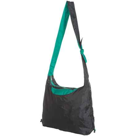 ChicoBag Hobo rePETe Packable Purse in Jet Black - Closeouts