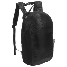 ChicoBag rePETe Travel Stowable Backpack - 15L in Black - Closeouts