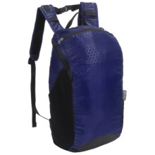 ChicoBag rePETe Travel Stowable Backpack - 15L in Turkish Blue - Closeouts