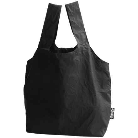 ChicoBag Reusable Micro Keychain Tote Bag in Jet Black - Closeouts