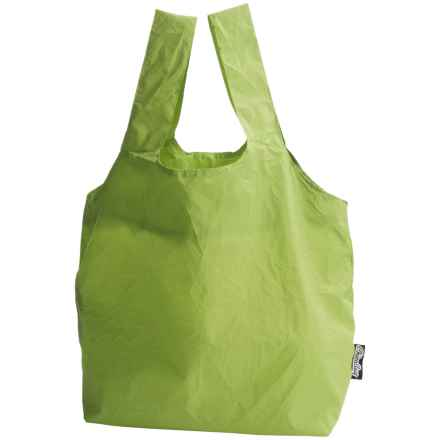ChicoBag Reusable Micro Keychain Tote Bag in Parrot Green - Closeouts