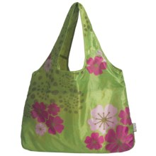 Chicobag Vita Blossom Reusable Shopping Tote Bag in Green Tea - Closeouts