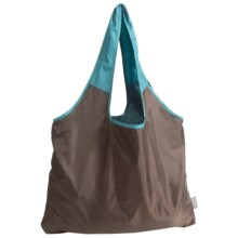 Chicobag Vita Repete Shopping Tote Bag- Recycled Materials in Darkroast - Closeouts