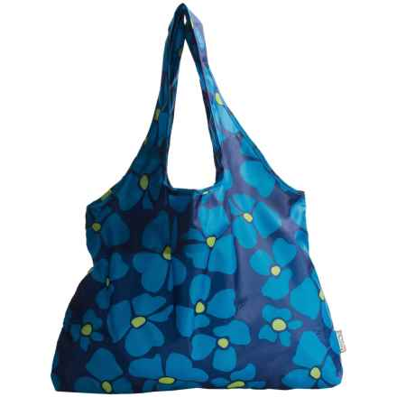 Chicobag Vita Reusable Tote Bag - Large in Blue Abundance - Closeouts