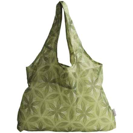 Chicobag Vita Reusable Tote Bag - Large in Green Chakra - Closeouts