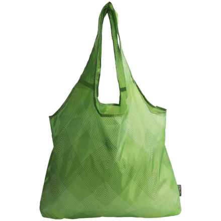 Chicobag Vita Reusable Tote Bag - Large in Green Reflection - Closeouts