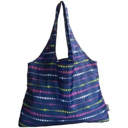 Chicobag Vita Reusable Tote Bag - Large in Midnight Swells - Closeouts