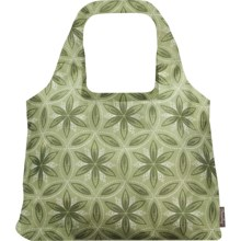 Chicobag Vita Reuseable Shoppers Tote Bag - Bohemian Collection in Green Chakra - Closeouts