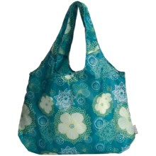 Chicobag Vita Reuseable Shoppers Tote Bag - Solstice Collection in Waterblooms - Closeouts