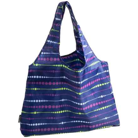 Chicobag Vita Reuseable Shopping Tote Bag - Echo Collection in Midnight Swells - Closeouts