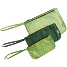 ChicoBag Zip Travel Pouches - Set of 3 in Echo - Closeouts