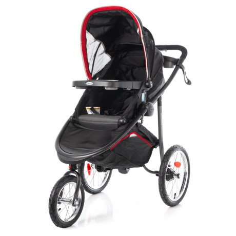 Image of Chili Red Modes Jogger Jogging Stroller