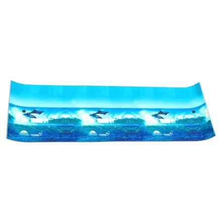 Chill Lake & Pool Drifter Dolphin Island Water Mat - 18x6' in Blue - Closeouts