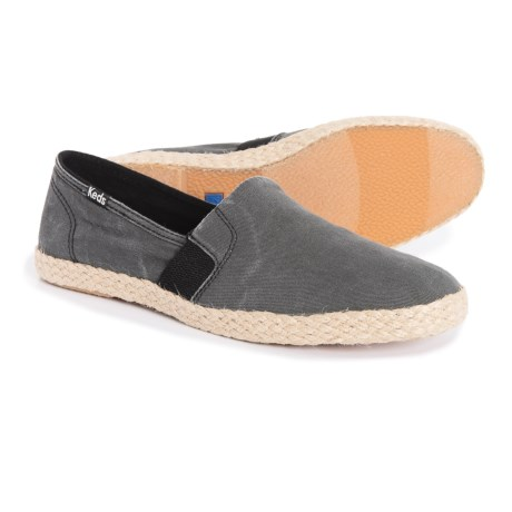 Image of Chillax A-Line Jute Espadrille Shoes- Slip-Ons (For Women)