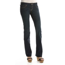 Chip & Pepper Stella Jeans - Stretch Cotton - Bootcut (For Women) in Denim - Closeouts