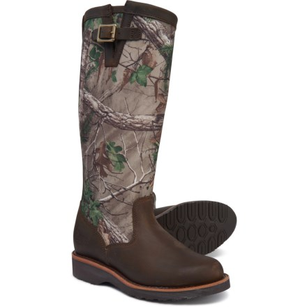 "4fb4e30203bc Chippewa 15"" Kingsley Pull-On Snake Boots (For Women) in Brown"