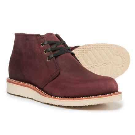 Chippewa 1955 Original Modern Suburban Boots - Leather (For Men) in Burgundy - Closeouts