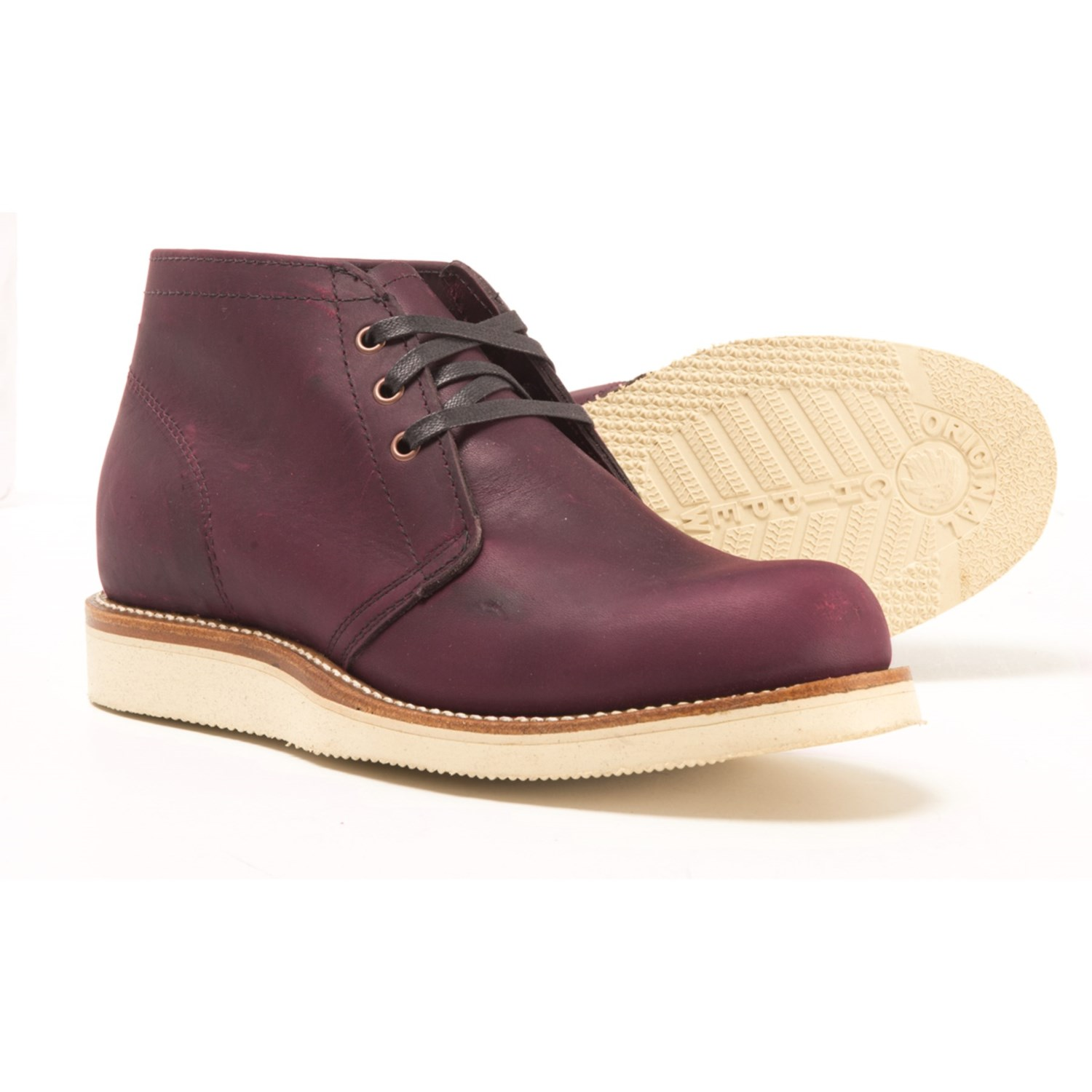 53fc5bd0 Chippewa 1955 Original Modern Suburban Chukka Boots - Leather, Factory 2nds  (For Men)