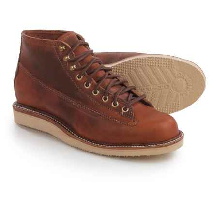 Chippewa 1958 Original Utility Boots - Leather (For Men) in Tan - 2nds