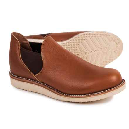 Chippewa 1967 Original Romeo Shoes - Leather, Slip-Ons (For Men) in Vermont Saddle - Closeouts