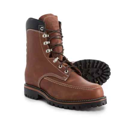 Chippewa 1969 Original Kush N Kollar Leather Boots - Waterproof, Insulated (For Men) in Chocolate - Closeouts