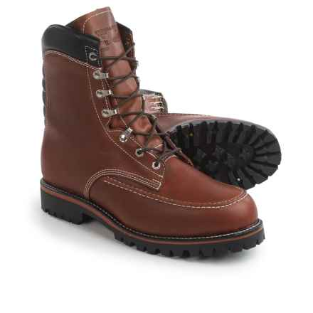 """Chippewa 1969 Original Kush N Kollar® Mountaineer Boots - 8"""", Insulated, Leather (For Men) in Chocolate - 2nds"""