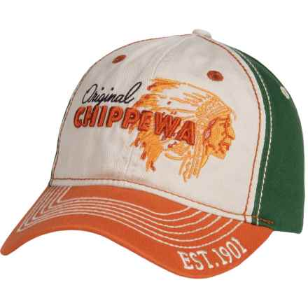 8d18477baaa15 Chippewa 3D Fashion Baseball Cap (For Men) in White Green - Closeouts