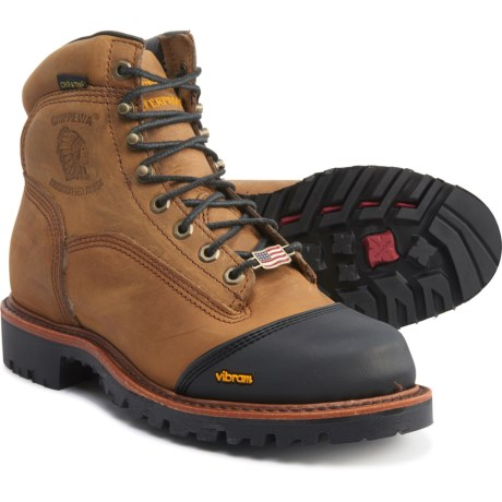 """Chippewa 6"""" Bolger Work Boots (For Men"""