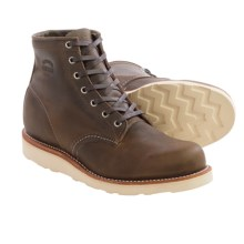 """Chippewa 6"""" Crazy Horse Work Boots (For Men) in Brown - Closeouts"""