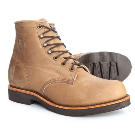 "923ec554203a4 Chippewa 6"" Thompson Classic Work Boots - Nubuck (For Men) in Tan"