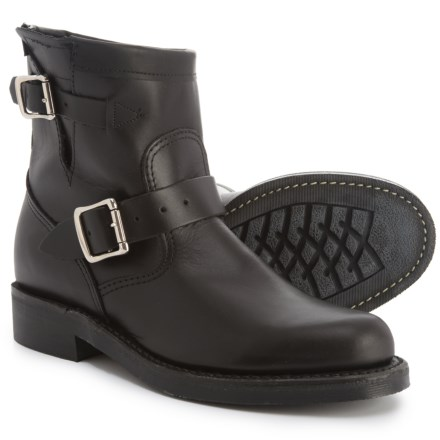 """27736ba15d39 Chippewa 7"""" Raynard Original Engineer Boots - Leather (For Women) in Black  Whirl"""