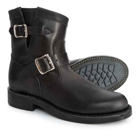 """Chippewa 7"""" Raynard Original Engineer Boots - Leather (For Women) in Black"""