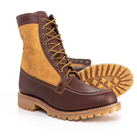 """Chippewa 8"""" Shearling Hunting Boots (For Men) in Brown/Tan - Closeouts"""