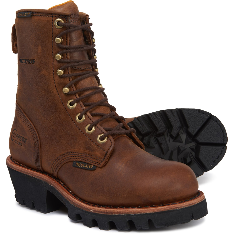 "e7c51d0e521 Chippewa 8"" Wakita Logger Work Boots (For Women) - Save 36%"
