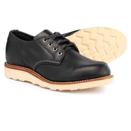 Chippewa Aldrich Oxford Shoes - Factory Seconds (For Men) in Black Whirlwind