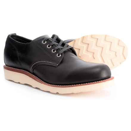 Chippewa Aldrich Oxford Shoes - Leather (For Men) in Black - Closeouts