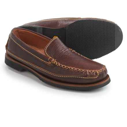 Chippewa American Bison Leather Loafers - Slip-Ons (For Men) in Brown - Closeouts