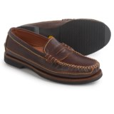 Chippewa American Bison Leather Penny Loafers - Leather, Slip-Ons (For Men)