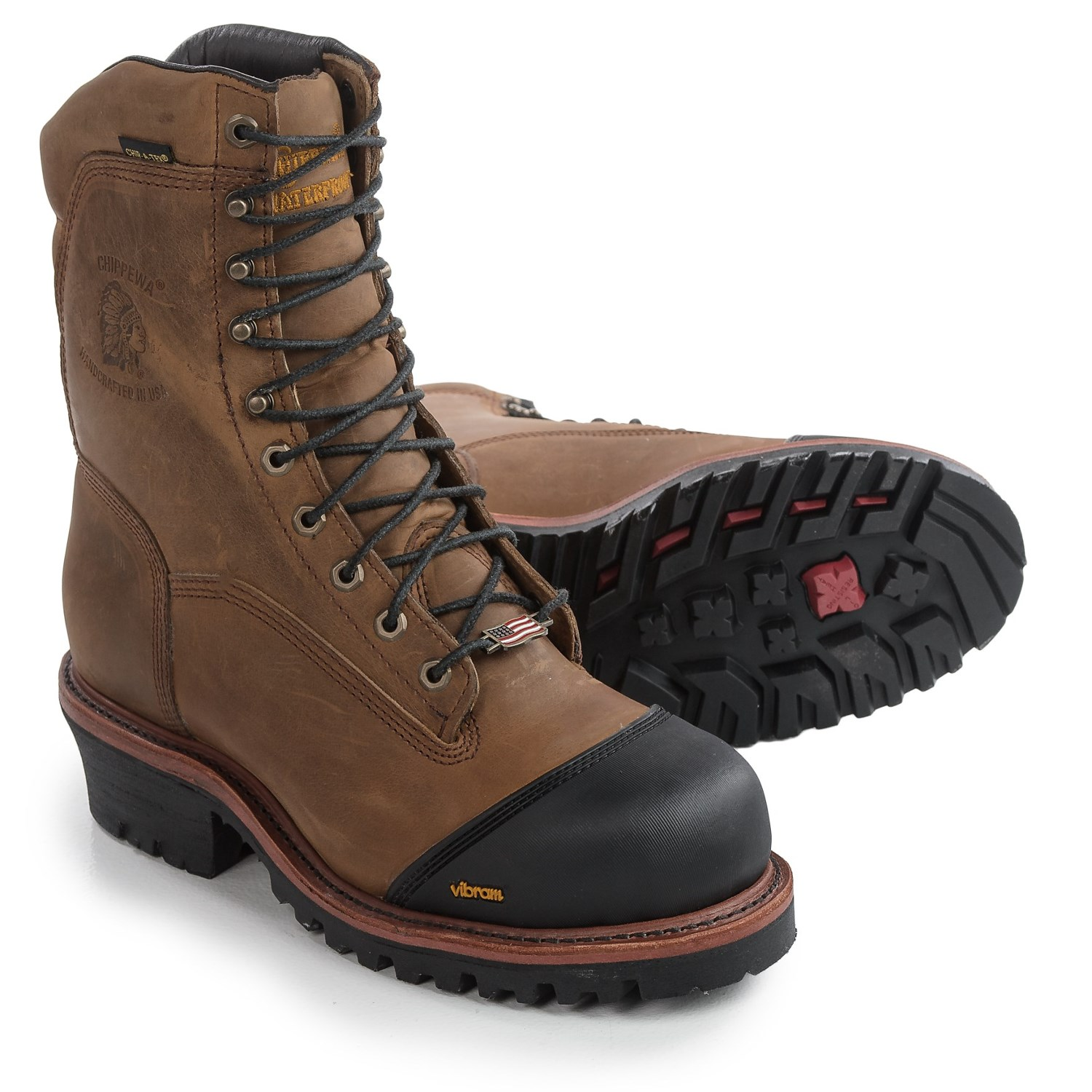 Chippewa Apache Composite Toe Work Boots  For Men