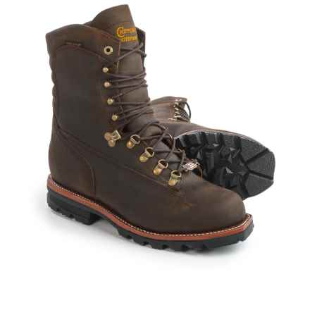 "Chippewa Arctic Rugged Leather Work Boots - Waterproof, Insulated, 9"" (For Men) in Apache - 2nds"