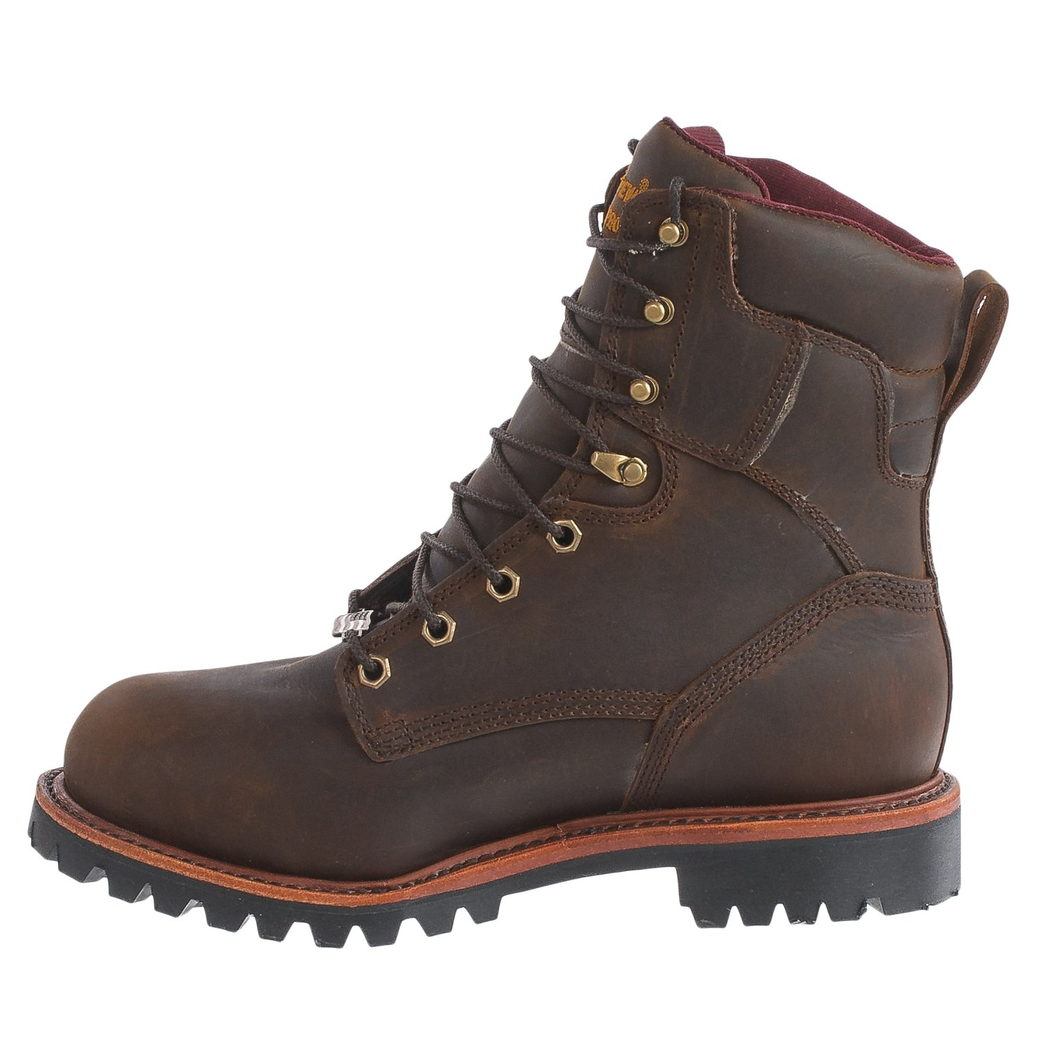 Chippewa Bay Crazy Horse Steel Toe Work Boots (For Men) - Save 40%