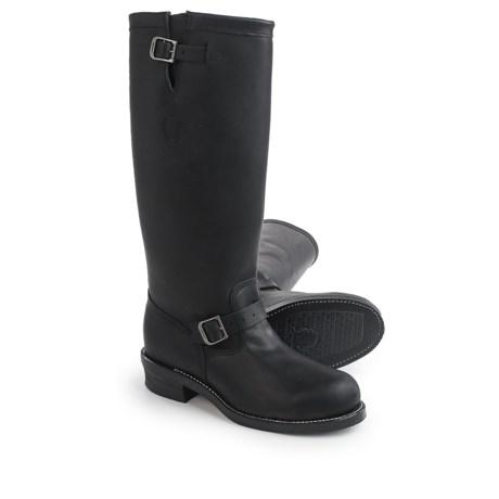 "Chippewa Engineer Trooper Boots - 17"", Steel Toe (For Men) in Black"