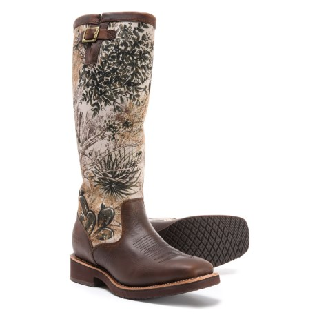 "6519f7eb48 Chippewa Gameguard Snake Boots - 17"", Square Toe, Factory 2nds, Camo Barbary"