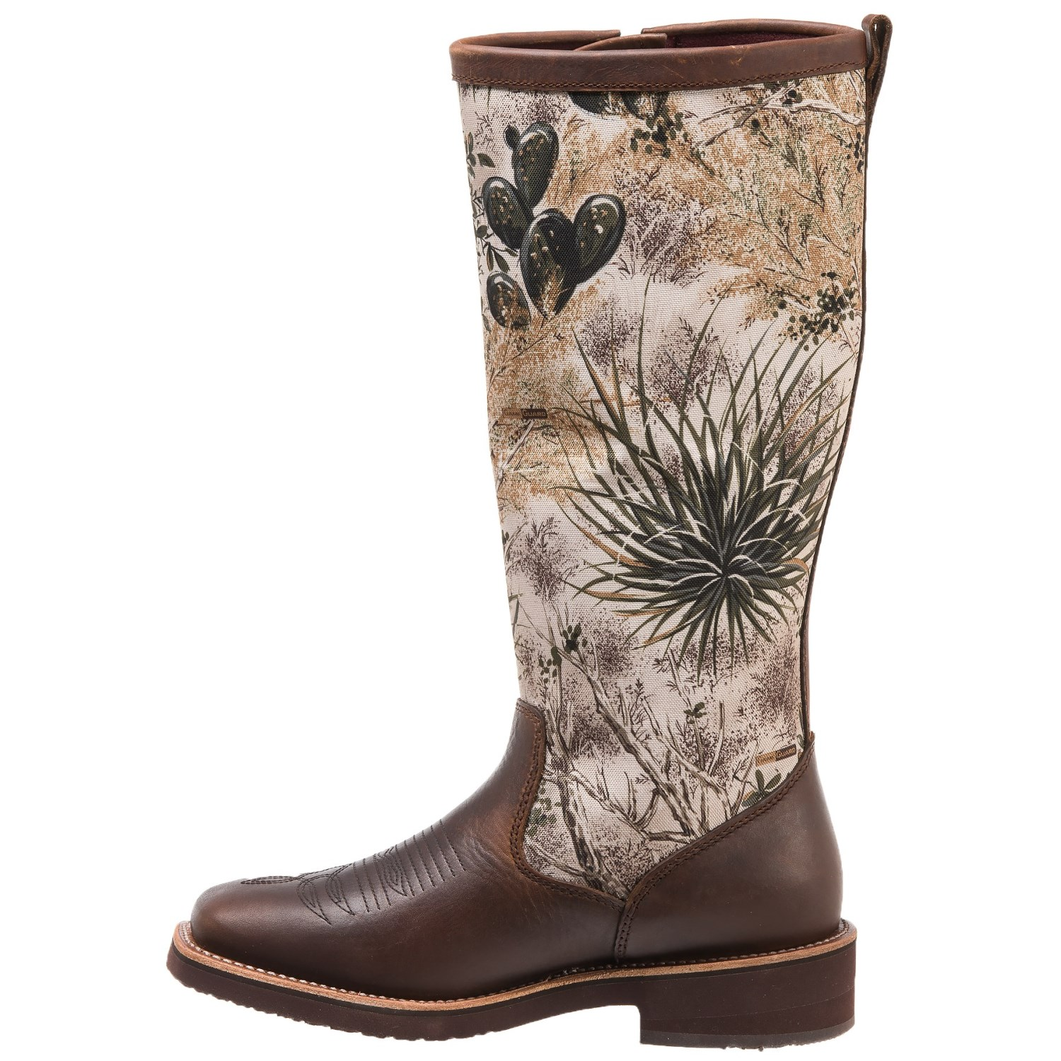"db000b48ee Chippewa Gameguard Snake Boots - 17"", Square Toe, Factory 2nds, Camo  Barbary Brown (For Men)"