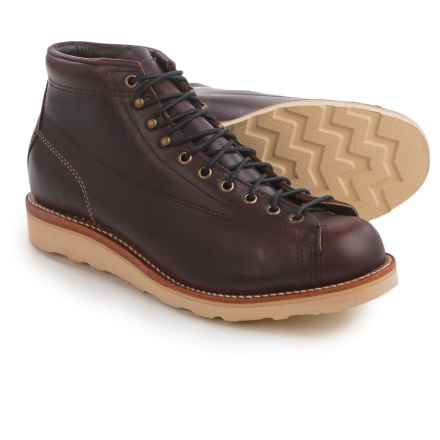 "Chippewa General Utility Bridgeman Boots - Leather, 5""(For Men) in Cordovan - 2nds"