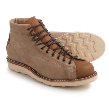 Chippewa General Utility Bridgemen Boots - Suede (For Men) in Kahki - 2nds